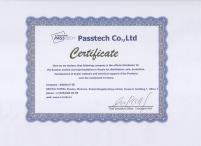 Сертификат Passtech