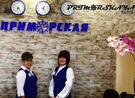 """Гостиница """"Приморская"""", Углегорск"""