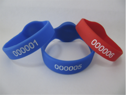 Электронный браслет RFID лазер+краска