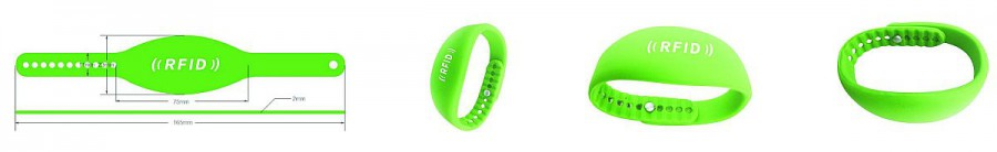 Электронный браслет RFID