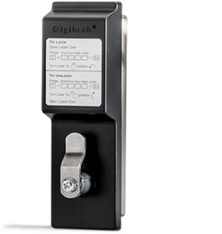 Замковый механизм электронного замка для шкафчиков Digilock