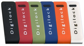 Цветовая гамма электронных замков Digilock