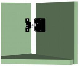 Электронный замок-невидимка для шкафчиков